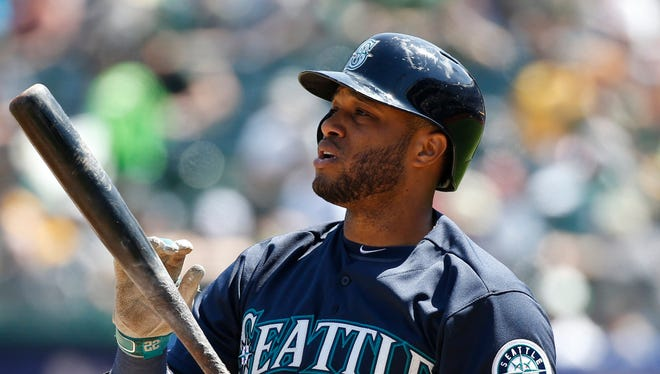 Robinson Cano, a five-time All-Star, was batting .391 after his first six games with the Mariners.