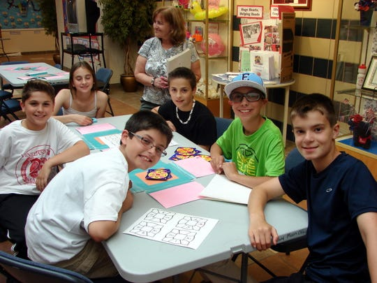 Achievement Night at Petway Elementary School offered students time to show off their math skills.
