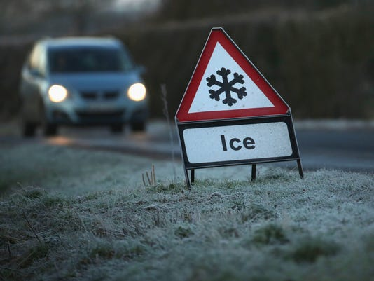 Widespread Frost As The UK Braces Itself For Severe Cold Weather