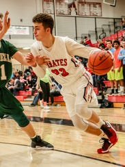 Pinckney's Connor Chynoweth had 10 points in a 59-51