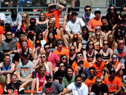 Reser Stadium crowd
