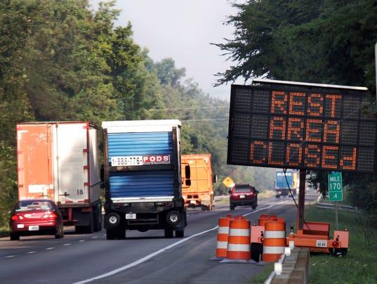 AP TRAVEL TRIP REST AREAS A FILE USA VA