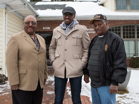 From left, Gilbert Cephas, Dion Banks, and William