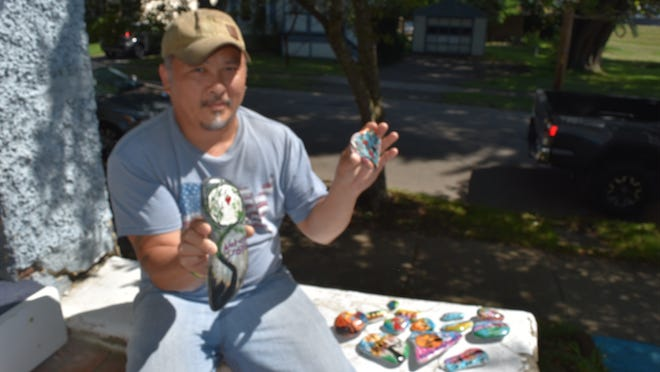 The Chemung River Friends and Elmira artist Pong Tulachanh will create painted nature scenes on river rocks and hide them along rivers and trails to attract more people to discover, enjoy and protect natural resources.