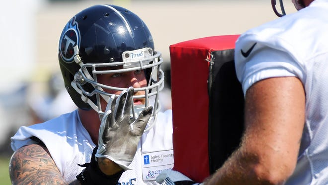 Tennessee Titans offensive tackle Taylor Lewan is the highest paid offensive lineman in the NFL.