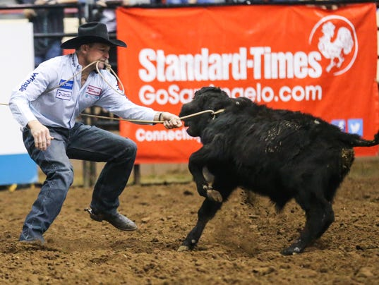 San Angelo Stock Show and Rodeo 4th performance Sunday, Feb. 4, 2018