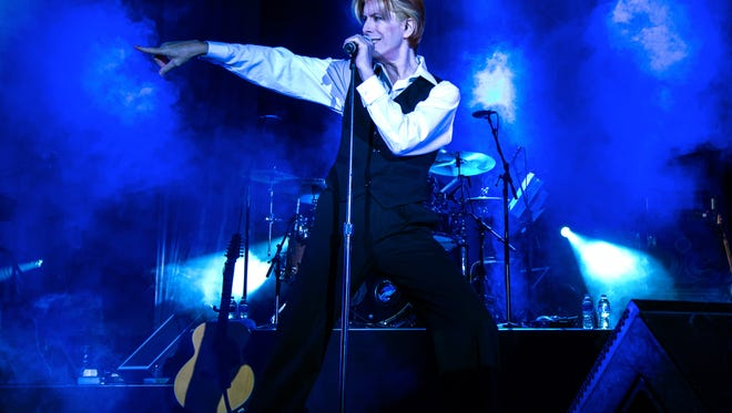 David Brighton, a David Bowie impersonator, is performing April 16 in South Lake Tahoe.