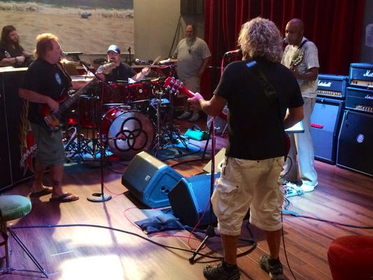 Sammy Hagar and friends