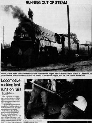 An article in The Greenville News on Nov. 11, 1994.