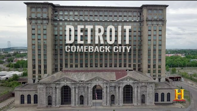"""From the trailer, a one-hour special titled """"Detroit: Comeback City"""" on the History network"""