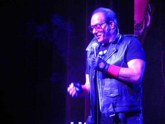 Andrew Dice Clay will perform at 7 p.m. on Sept. 14