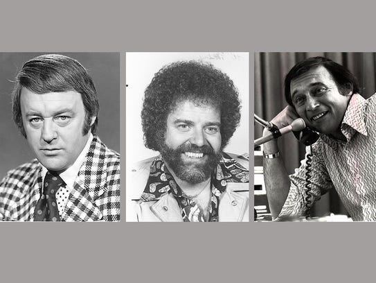 From left: Bill Bonds in 1976, Bob Talbert in 1975,