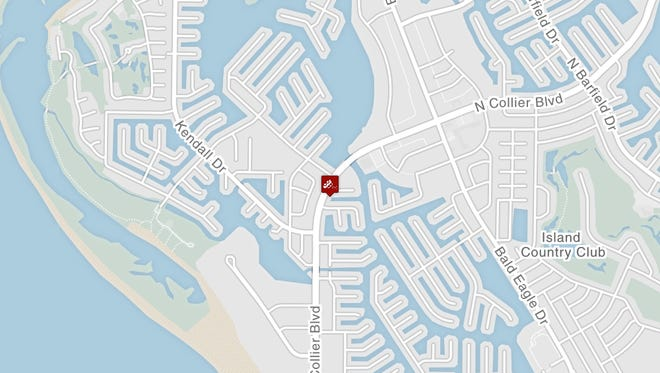 Marco Island police responded to a fatal crash near Holly Court and North Collier Boulevard Monday night.