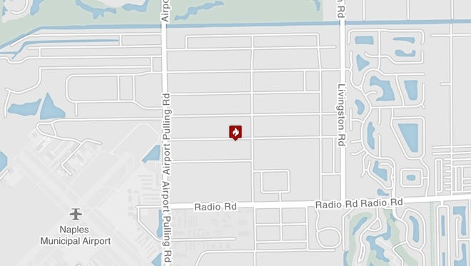 Firefighters are investigating an East Naples explosion on Exchange Avenue that caused medics to rush a man to an area hospital.