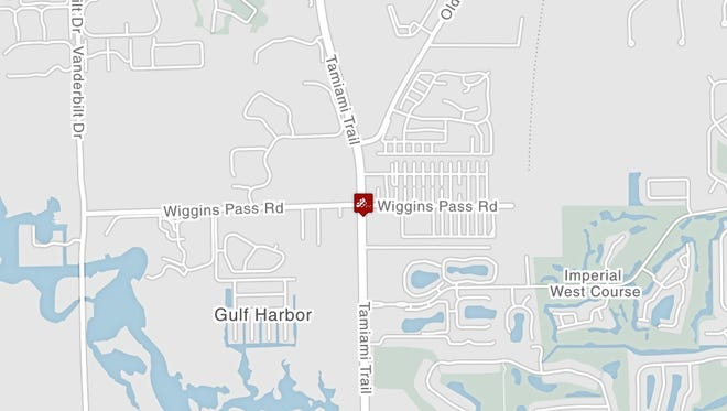 A pedestrian was killed while crossing US 41 at Wiggins Pass Road in Naples