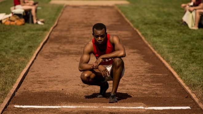 """Sephan James stars as track-and-field star Jesse Owens in the movie """"Race,"""" opening in El Paso-area theaters this week."""