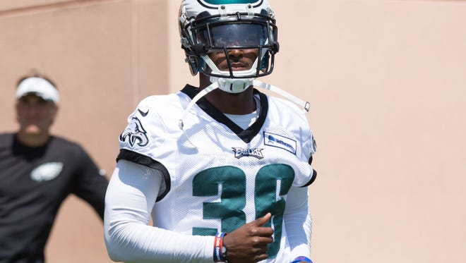 Eagles cornerback JaCorey Shepherd missed the entire 2015 season after tearing his ACL last August during training camp.
