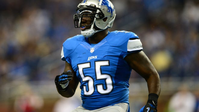 Stephen Tulloch has spent the last five seasons as the Detroit Lions' middle linebacker, the first three under Jim Schwartz.