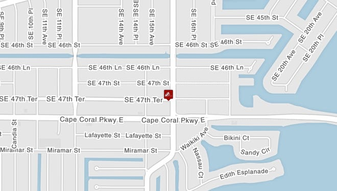 A serious vehicle crash on Del Prado Boulevard at 47th Terrace in Cape Coral is expected to shut down the road until at least 1 p.m. Tuesday.