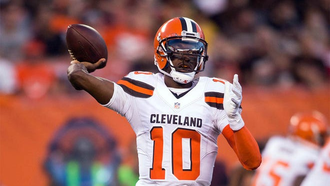 Robert Griffin III is the Cleveland Browns' starting quarterback after spending his previous four seasons with Washington.