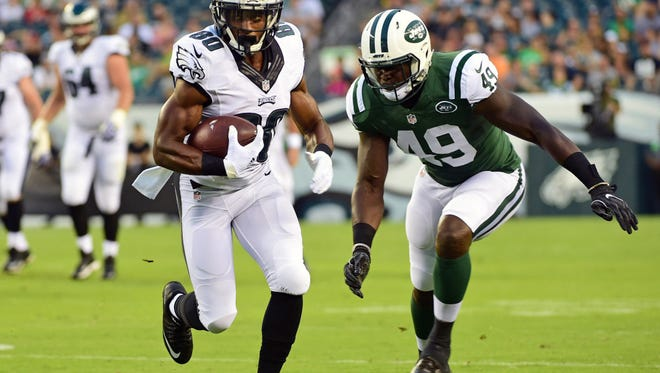 Paul Turner was the NFL's leading receiver during the preseason. He was promoted from the practice squad on Monday.