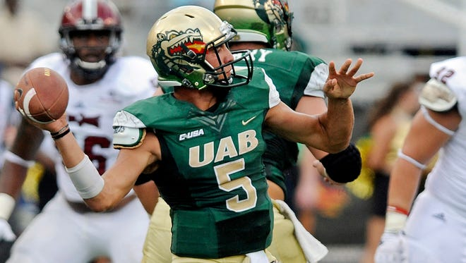Cody Clements was the starting quarterback for what appears to be the final season of the UAB football program.