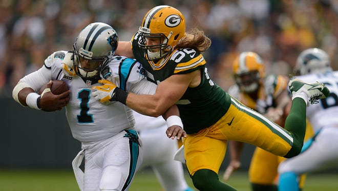 Green Bay Packers linebacker Clay Matthews might possess the best physical attributes to help keep Panthers quarterback Cam Newton in check.
