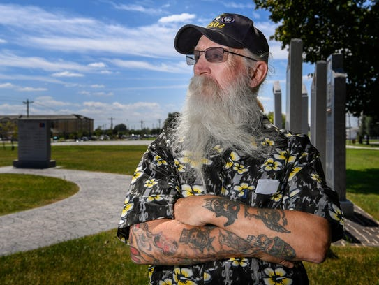 Retired Staff Sergeant James Groehler poses for a portrait