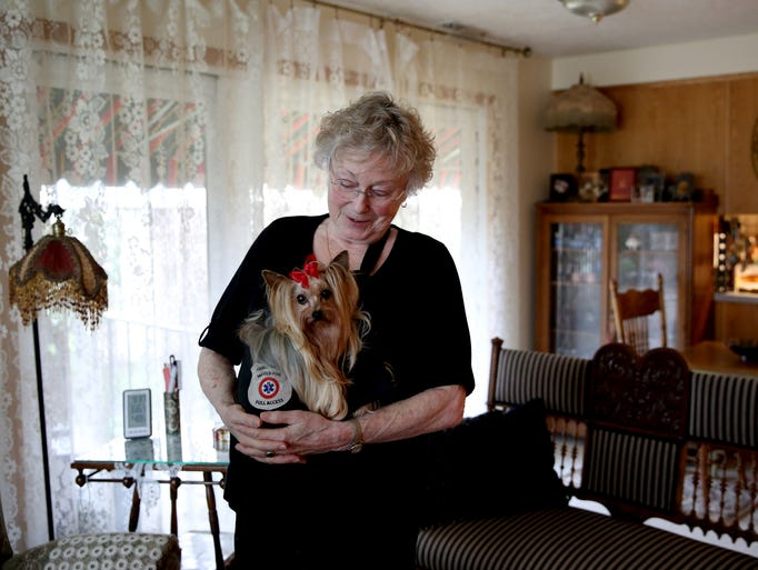 Eleanor Miller, 77, lives with a heart condition that