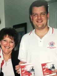 Diane Weinert and her son Dr. Anthony Weinert.