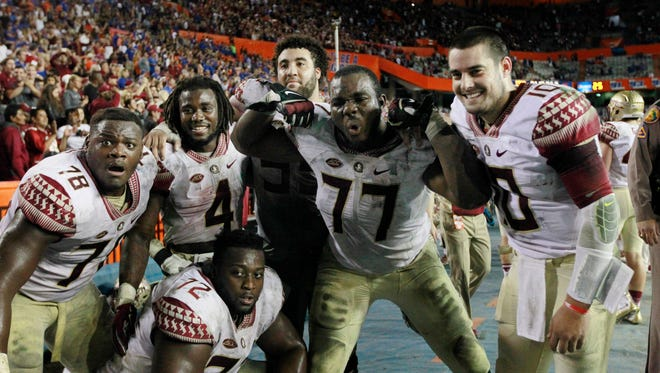 """Florida State's win over Florida put the 'Noles in prime position for bid to a """"New Year's Six"""" bowl game."""