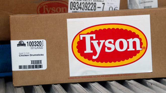 Tyson Foods has recalled more than 2.4 million pounds of its ready-to-eat chicken products, according to the USDA.