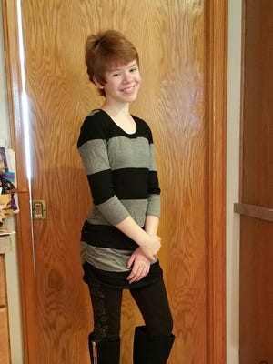 Abigail Kopf, 14, of Battle Creek, was critically injured in Saturday's random shooting attacks in Kalamazoo. Her parents talked Monday night about her brush with death and the progress she's shown since then.