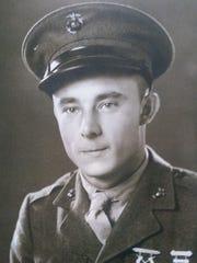 Cpl. Jim Sheridan in 1944.