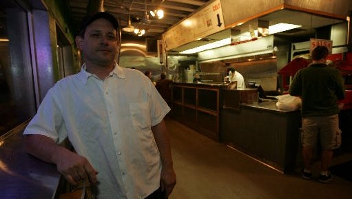 Tim Castaneda, the owner of the Zumba restaurant in Royal Oak, will continue to work at the eatery even as it changes hands.