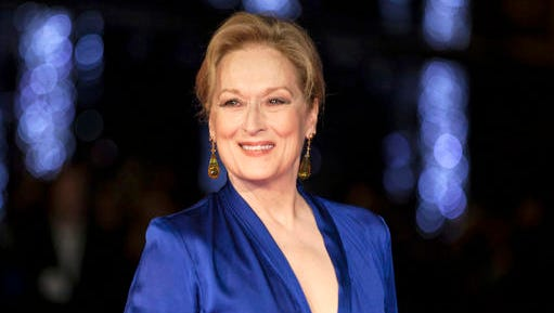 "FILE - In this Oct. 7, 2015 file photo, Meryl Streep appears at the premiere of the film ""Suffragette,"" at the opening gala of the London film festival in London. The Hollywood Foreign Press Association announced Thursday, Nov. 3, 2016, that Streep will receive the Cecil B. DeMille Award for ""outstanding contributions to the world of entertainment."" The 67-year-old actress has long been a mainstay at the ceremony. She's been nominated 29 times."