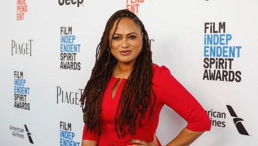 FILE - This Jan. 7, 2017 file photo shows director Ava DuVernay at the 2017 Film Independent Filmmaker Grant and Spirit Award Nominees Brunch in West Hollywood, Calif. A new study finds that just 7 percent of the 250 highest-grossing films of 2016 were directed by women. In recent years, gender inequality in Hollywood has drawn increased scrutiny, including an ongoing investigation by the federal Equal Employment Opportunity Commission.