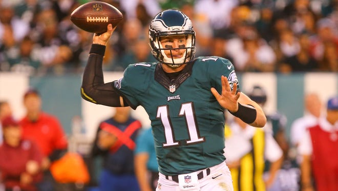 Carson Wentz has led the Philadelphia Eagles to a 3-0 start.