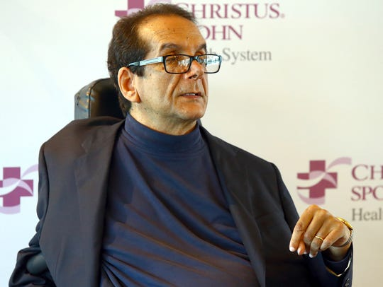 In this March 31, 2015 file photo,  Charles Krauthammer