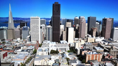 The prospect of prosperity keeps people flocking to San Francisco.