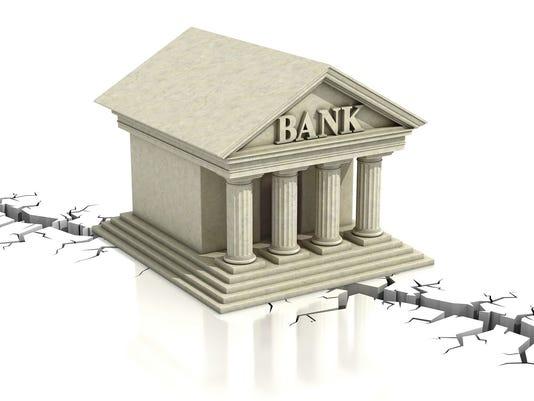 Bank Crumbling