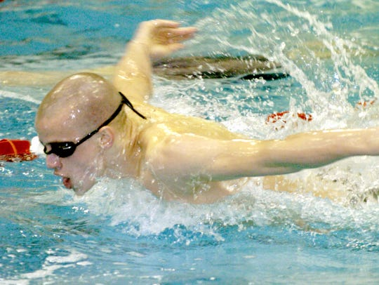 York Suburban's Kevin Marsteller helped lead the Trojans
