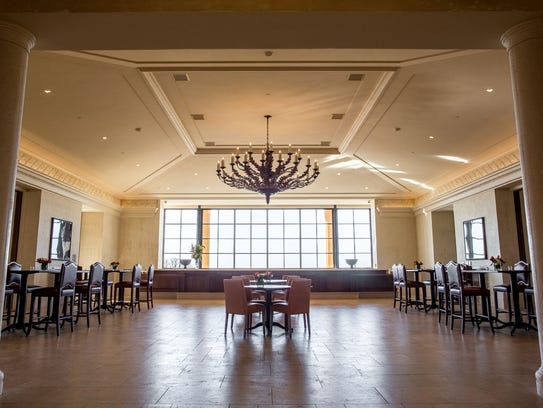 The Domaine Serene main hall welcomes the public to