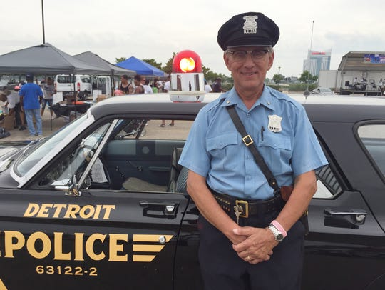 Retired police officer George Patak of Farmington Hills