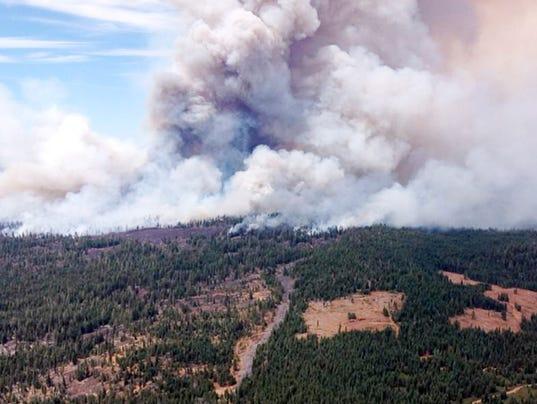 AP Western Wildfires 080314
