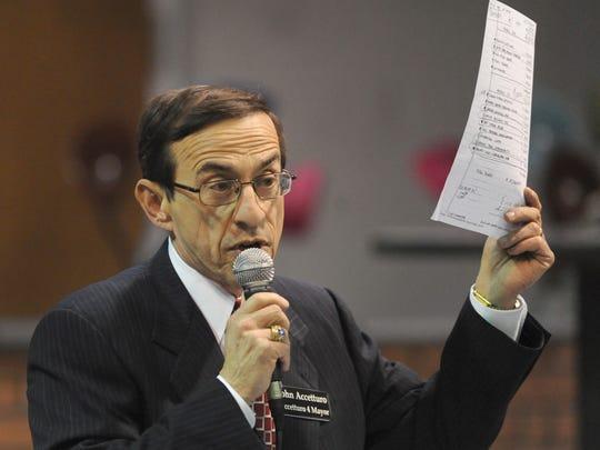 Former Carmel mayoral candidate John Accetturo