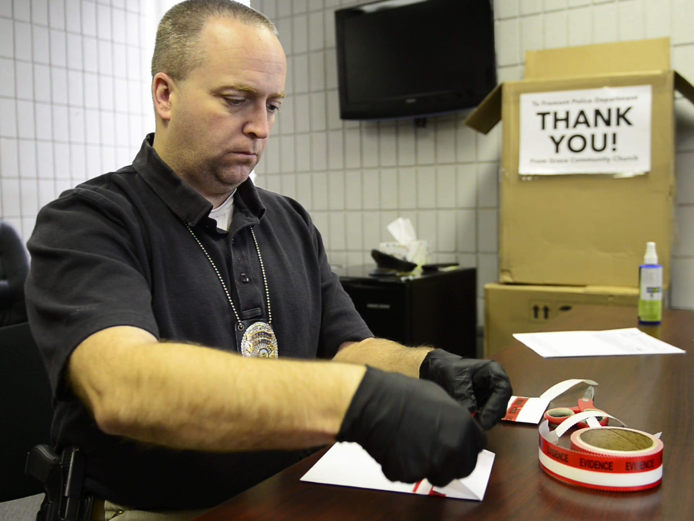Detective Jason Kiddey of the Fremont Police Department