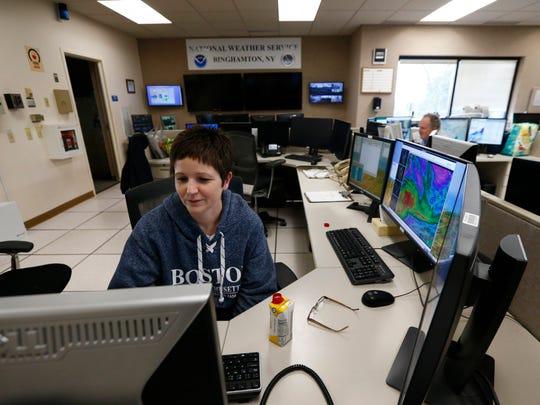 National Weather Service meteorologist, Joanne LaBounty