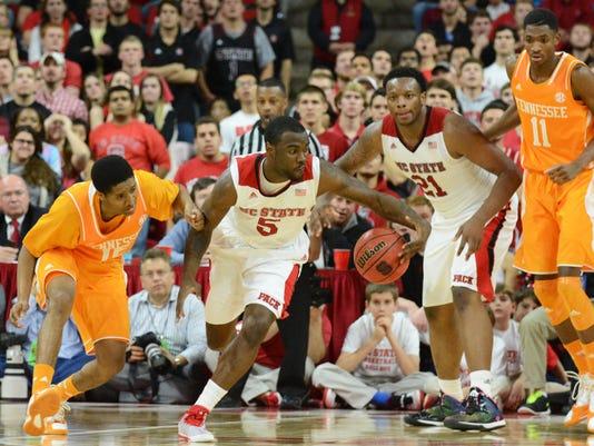 NCAA Basketball: Tennessee at North Carolina State
