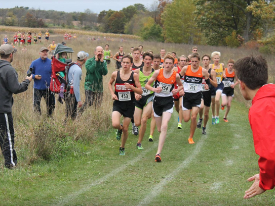 SPASH senior Johnny Hyland has returned to full strength from a broken collarbone he suffered during the 2016 high school cross-country season.
